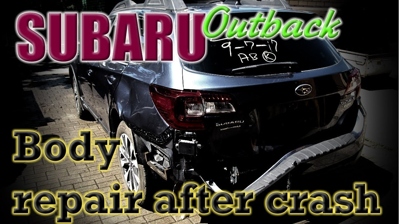 Subaru Outback. Body repair. Ремонт кузова.