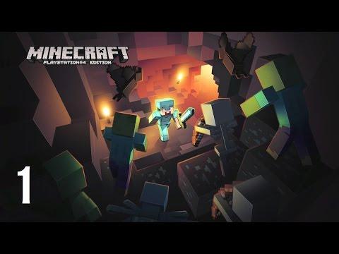 Minecraft (PS4) - Vidéo découverte / Tutoriel (partie 1) : je découvre le jeu