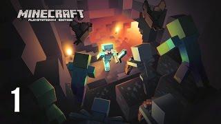 Minecraft (PS4) - Vidéo DECOUVERTE / Tutoriel (partie 1) : Je découvre le jeu !