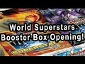 World Superstars Booster Box Opening!