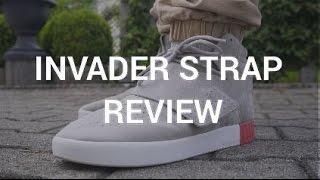 cinturón leninismo Girar en descubierto  Adidas Tubular Invader Strap Review! - YouTube