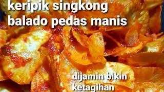 Download CARA MEMBUAT SAMBAL KERIPIK SINGKONG BALADO PEDAS MANIS| MASAK MUDAH RASA WAH #8