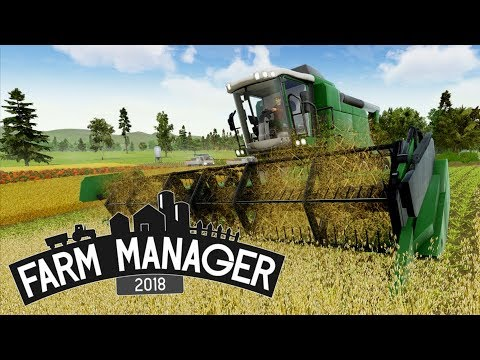Farm Manager 2018 - #13 Harvest Time and Auto insemination - Farm Manager 2018 Gameplay