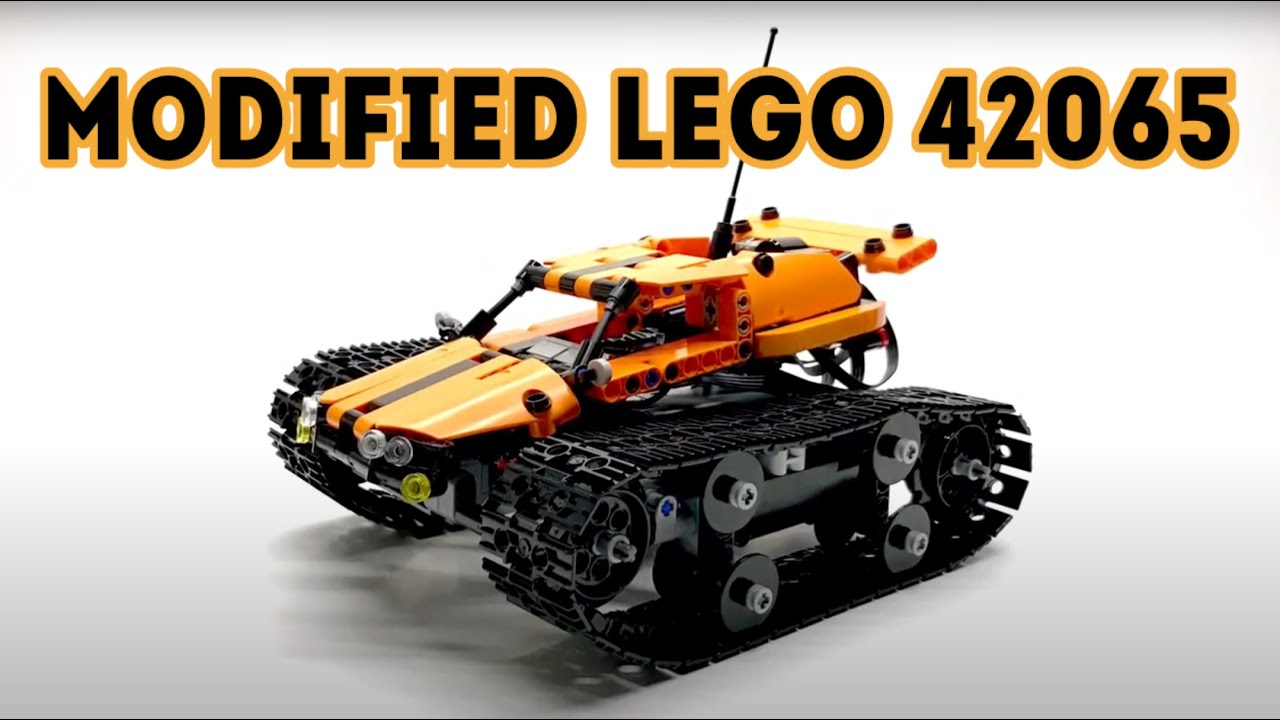 Lego Technic 42065 Rc Tracked Racer Modifications Youtube