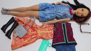 Amerikalı Barbie Bebeğim Artık Özgür. Ajan Barbie YENİ Oyuncak Paketi Açtım! Bidünya Oyuncak