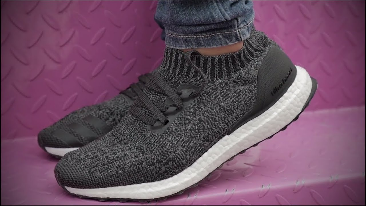 44bcc83540b Adidas Ultra Boost Uncaged Core Black  ON FEET and How to Style Look Book