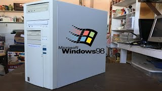 A look at my Windows 98 Machine