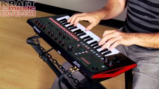 Kraft Music - Roland JD-Xi Crossover Synth Performance with Scott Tibbs