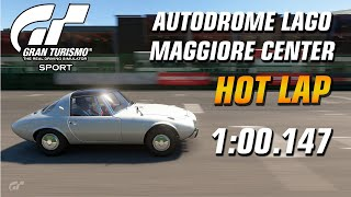 GT Sport Hot Lap // Daily Race A (20.01.20)  Toyota Sports 800 // Lago Maggiore Center