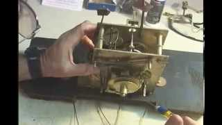 How To Oil An Antique Clock Movement