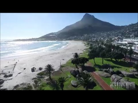 Camps Bay, Cape Town from above