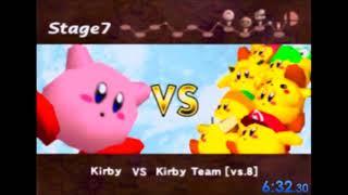 Super Smash Bros. Classic Speedrun as Kirby 12:23