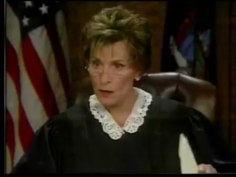 WATCH: Judge Judy burst out in laughter |FUNNY