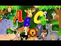 Alfabeto Infantil com som dos animais | Alfabeto Completo | ABC Português Infantil | ABC dos animais