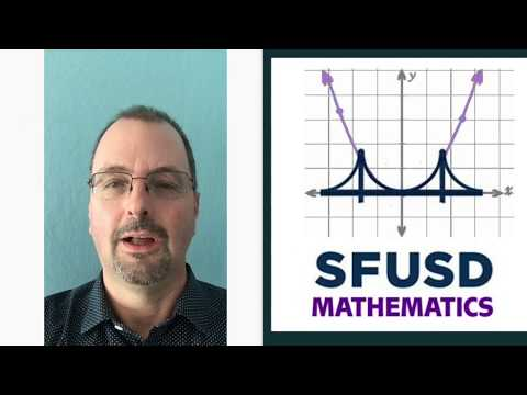 History of SFUSD Math Core Curriculum