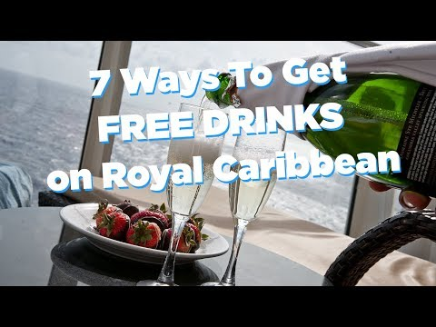 7 Ways To Get Free Drinks On A Royal Caribbean Cruise