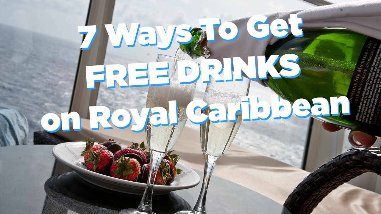 are any drinks free on royal caribbean cruises