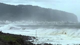 Atterrissage Air France 3580 à Gillot pendant le Cyclone tropical Giovanna(FMEE/RUN)