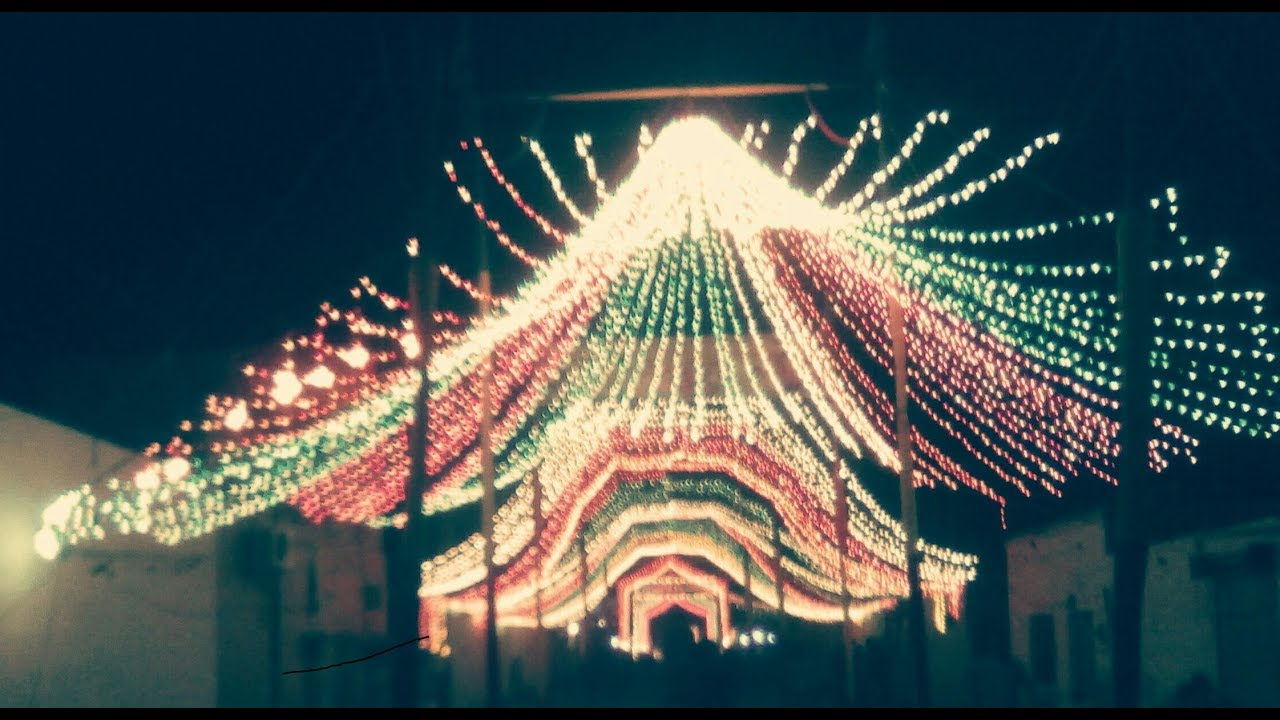 Lighting jashne Eid Milad un Nabi 2018 || Pakistan || 12 Rabi ul awal  lighting by Kuch Naya- KNP