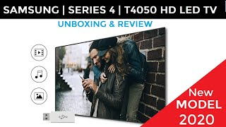 SAMSUNG 32Inch 4 Series T4050 HD LED TV A BEST NON SMART LED TV Unboxing amp Review Hindi