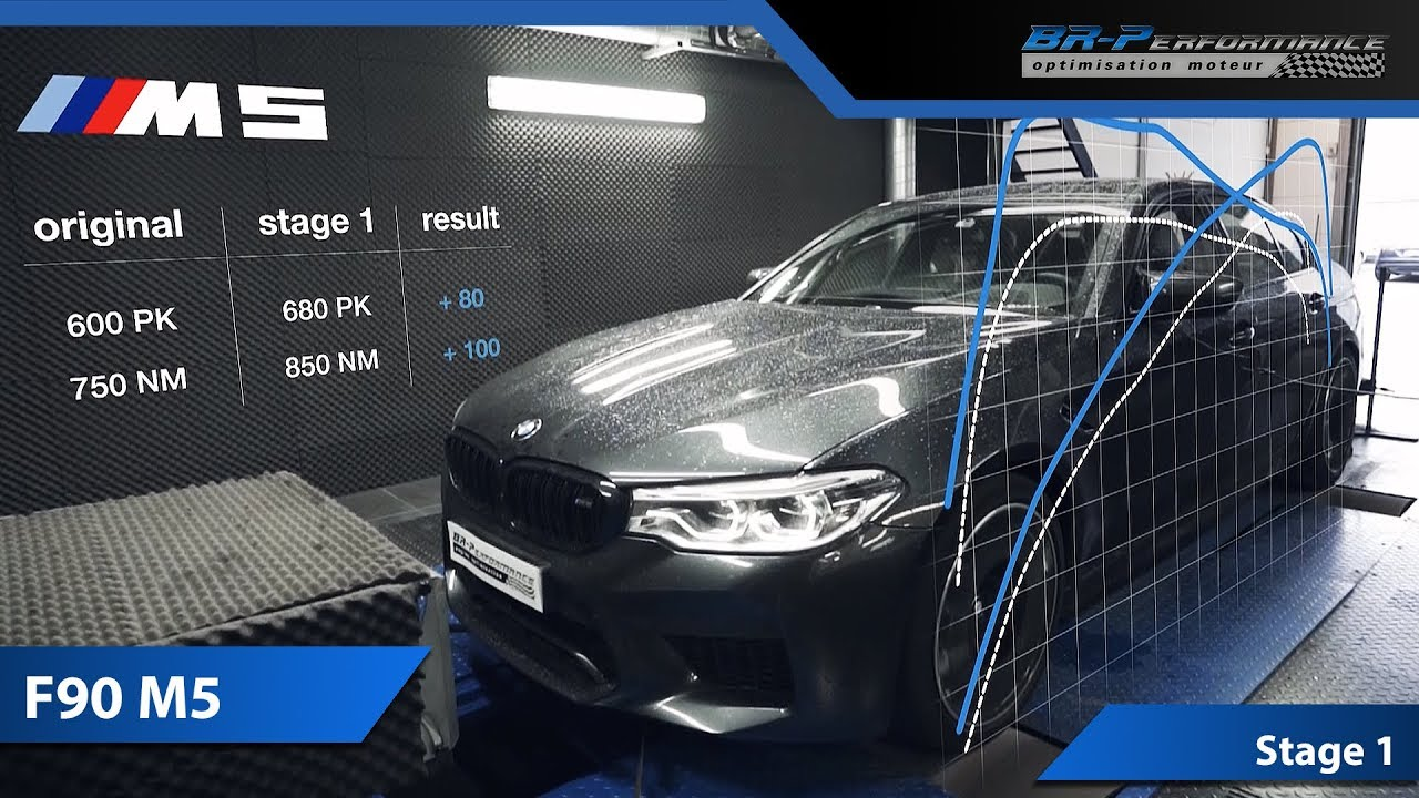 Remap Bmw M5 F90 Stage 1 By Br Performance Youtube