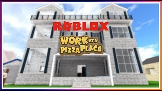 *NEW* MASSIVE MANSION UPDATE - Roblox Work at a Pizza Place 🍕