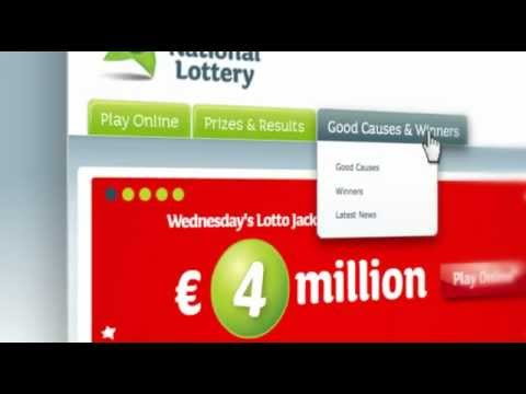 A quick tour of the Irish National Lottery website