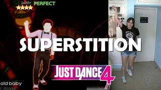 "Just Dance 4 ""Superstition"" 