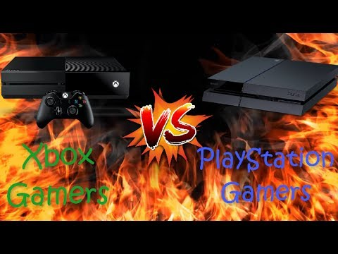 Xbox Gamers VS PlayStation Gamers