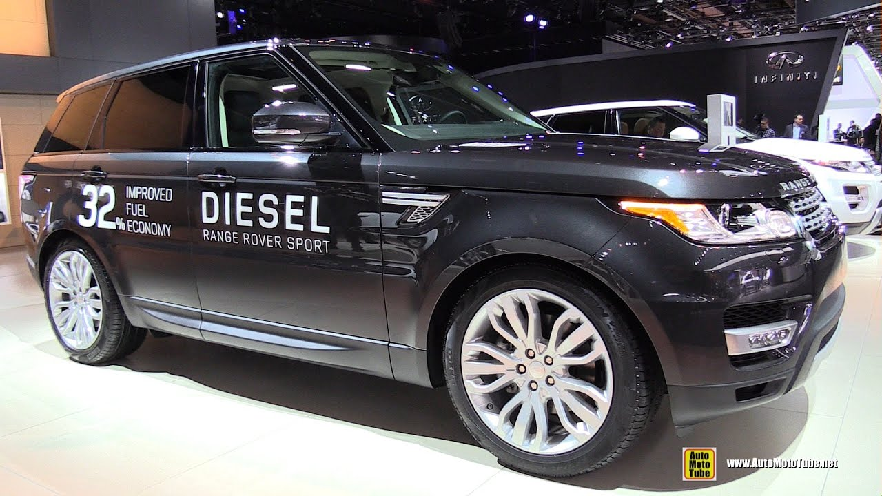 2015 range rover sport hse diesel exterior and interior walkaround 2015 detroit auto show. Black Bedroom Furniture Sets. Home Design Ideas