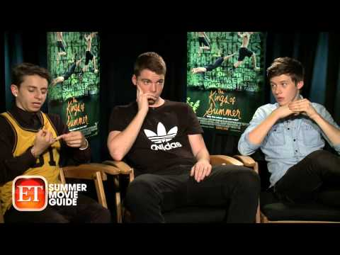 Sit-Down with 'The Kings of Summer' Stars