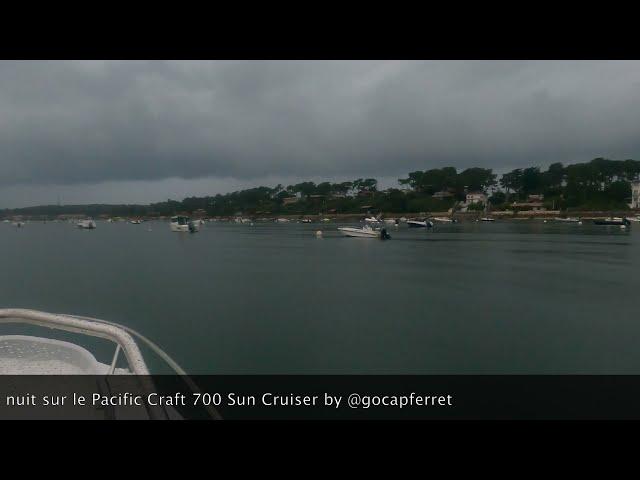 Pacific Craft 700 Sun Cruiser  Retour au port avec mon TEMO - Grand Piquey, Cap Ferret