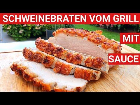 ♨️-grillblitz:-schweinebraten-krustenbraten-mit-sauce-vom-grill,-schweinsbraten-grillen-knusprig-bbq