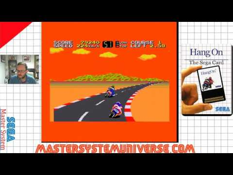 Sega Master System -  Hang On (Real hardware)