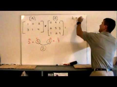 Matrix operations: addition and multiplication