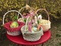 No-Sew  Easter Baskets
