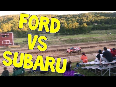 Ford Fiesta (Keanna) vs Subaru Impreza (Brian) Super Special STPR 2017