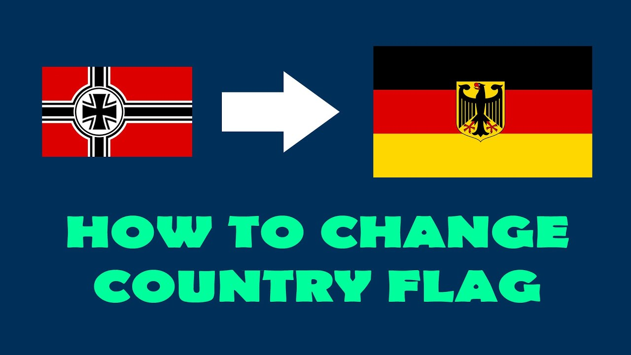 [HOI4 Modding] Changing/Creating Country Flag