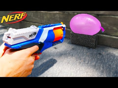 Download Youtube: NERF VS WATER BALLOON!!