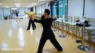 Standard practice at Tyson's Ballroom & Dancesport Center