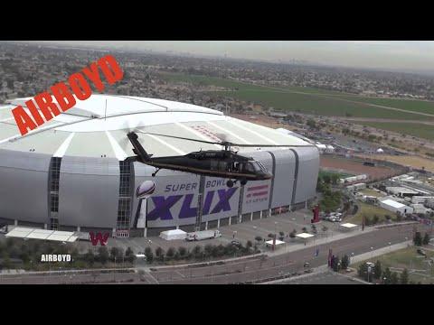 Super Bowl Air Surveillance CBP