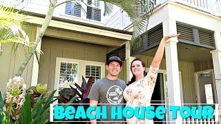 Beach House Tour In Hawaii