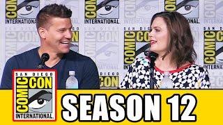 BONES SEASON 12 Comic Con 2016 Panel Highlights (Part 1) - Emily Deschanel, David Boreanaz