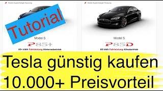 21-jähriger spart beim Tesla-Kauf 10-15.000 Euro durch einfache Methode und fährt so sein Traumauto