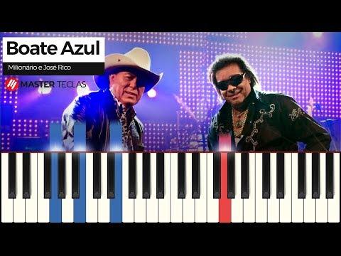 💎 Boate Azul - Milionário e José Rico  Piano Tutorial 💎