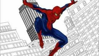 The Amazing Spider-Man Drawing