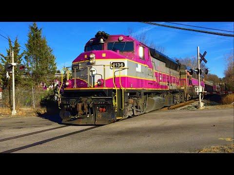 MBTA Commuter Rail Crossings in Franklin, MA
