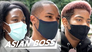 What's It Like Being Black In Japan in 2021?   Street Interview
