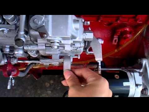 Hino diesel engine - YouTube
