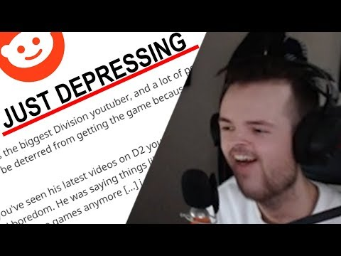 MarcoStyle's Depressing The Division 2 Beta Stream